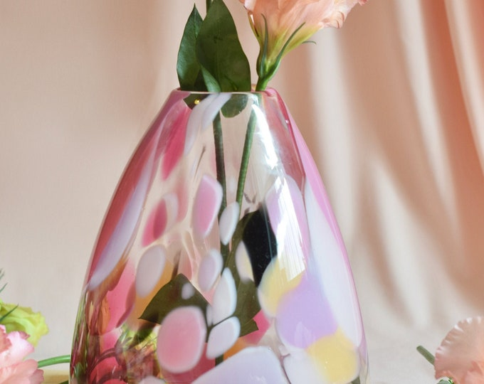 Medium Rose Rock Candy Vase #004