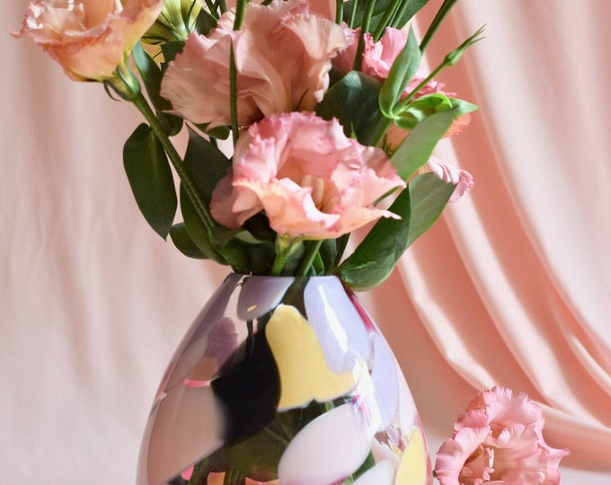 Medium Rose Rock Candy Vase #006