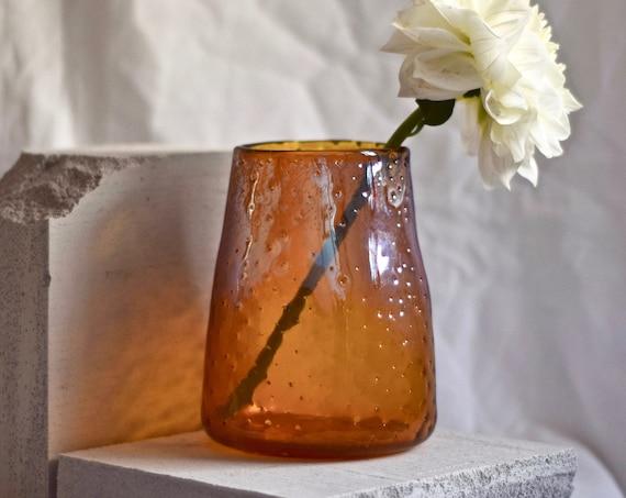 Medium Brilliant Gold 'Nailed it' Vase #005