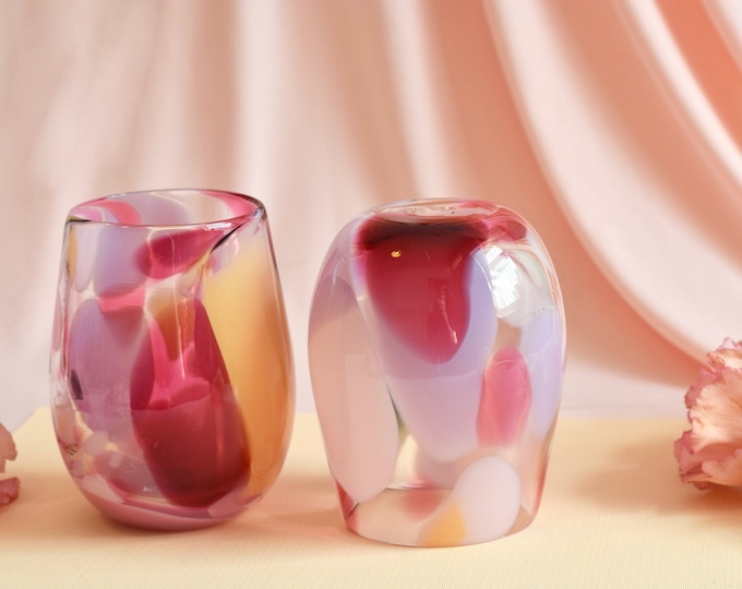 Rose Rock Candy Cup Set #0023