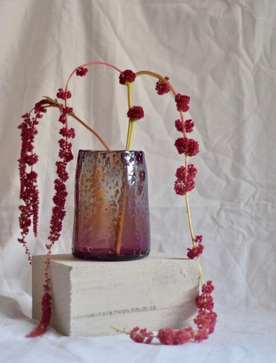 Medium Plum 'Nailed it' Vase #002