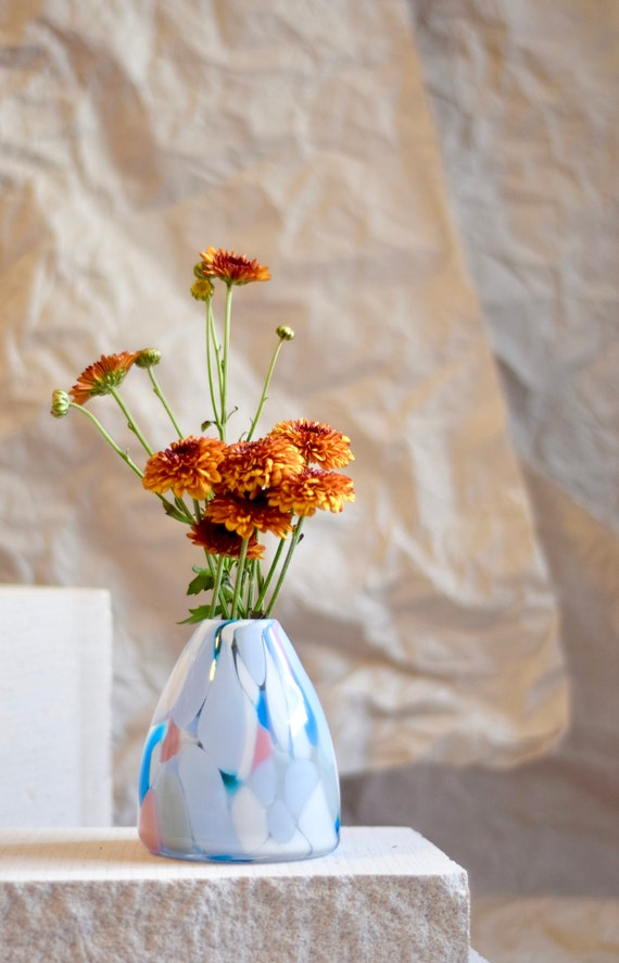 Small Light House Rock Candy Vase #0037