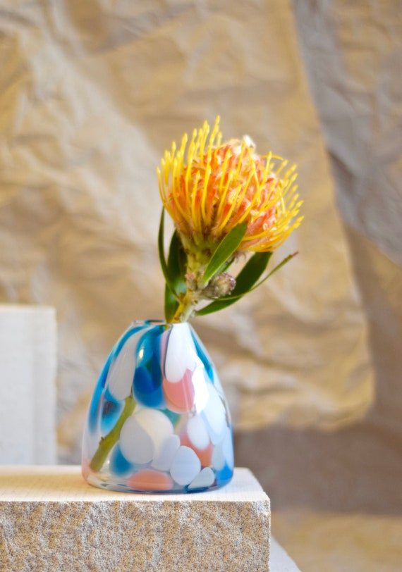Small Light House Rock Candy Vase #0030