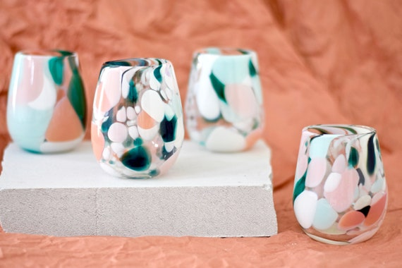 Paradise Rock Candy Cup Set#00114 (x4 Cups)