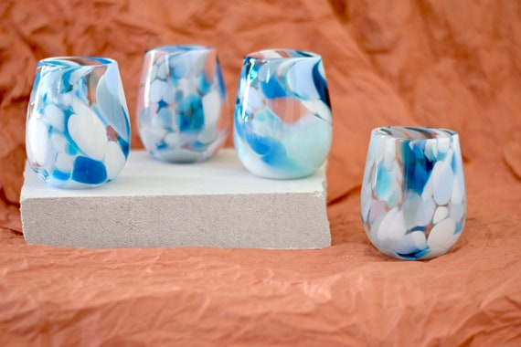 Light House Rock Candy Cup Set #0120 (x4Cups)