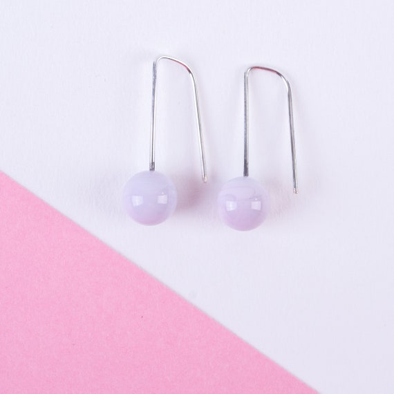 YODAN Baby Pink glass DOT DROPS