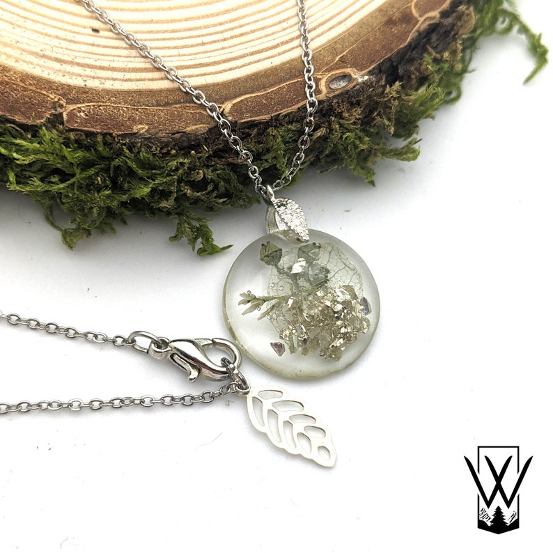 Delicate Fairy Wing Fairy Dust Drop Necklace