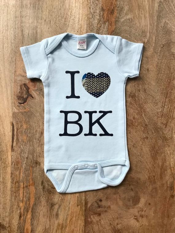 106810e83 I Love Brooklyn Kids T-Shirt I Love BK I Love BK Onesie   Etsy
