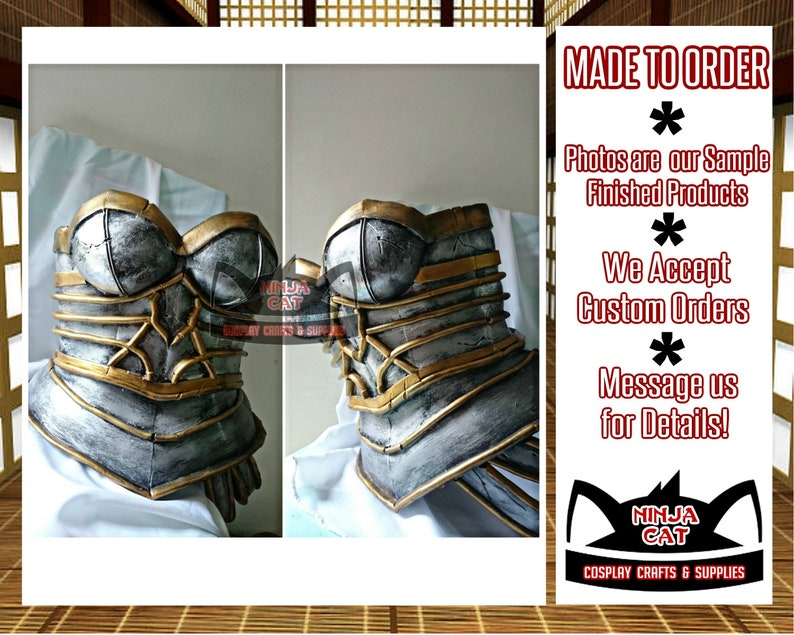 Made To Order - LOL - League of Legends - Redeemed Riven - Props and Armor  - Cosplay