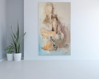 WOMAN - Oil On Canvas - Original Painting
