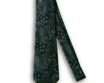 Jim Thompson Blue Necktie