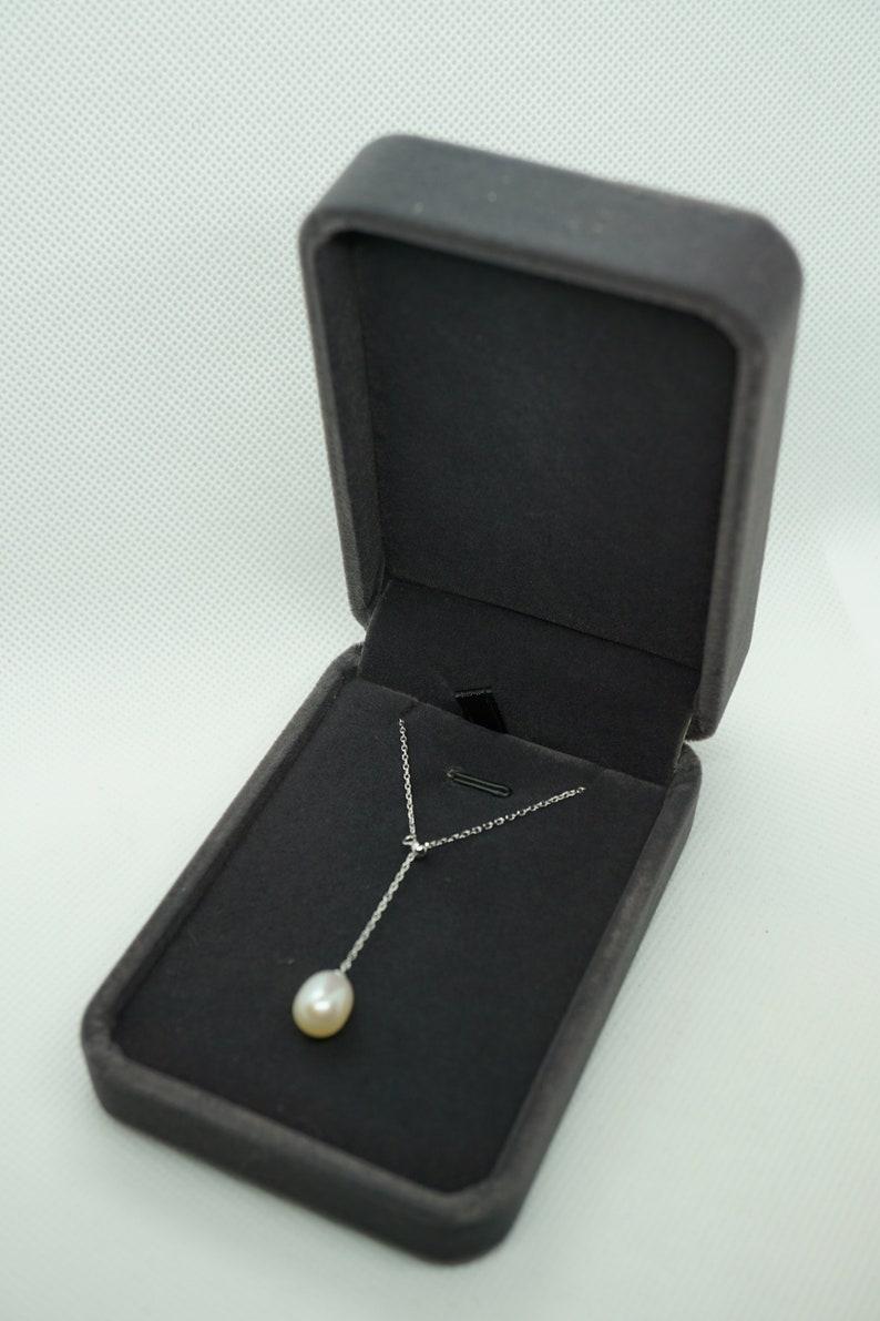 Velvet Necklace Gift Box Pendant Gift Box Gray Velvet Box Velvet Jewelry Box Pedant Box Necklace Storage Necklace Velvet Box