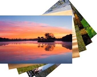 Wisconsin Lakes and Streams Photo Fine Art Note Card Set