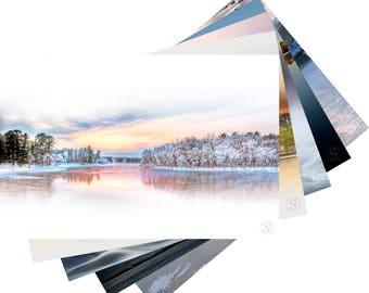 Wisconsin River Photo Fine Art Note  Card Set