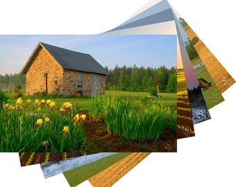 Barns and Farms of Wisconsin Photo Fine Art Note Card Set