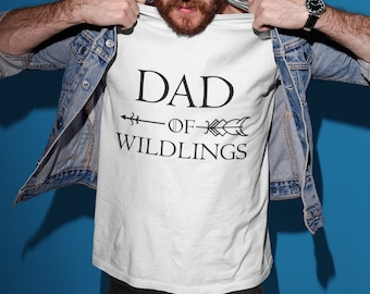 743c001db Father's Day Gift T-shirt, Dad Of Wildlings T-shirt ,Father Of Dragons T- shirt, ,Funny Daddy Shirt,Father's Day Gift Ideas,Gifts for Men