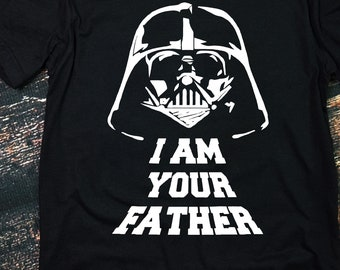 fdabc3f6 I Am Your Father Shirt, Funny Dad Shirt, First Fathers Day, Darth Vader,  Darth Vader Shirt, Father's Day, Star Wars
