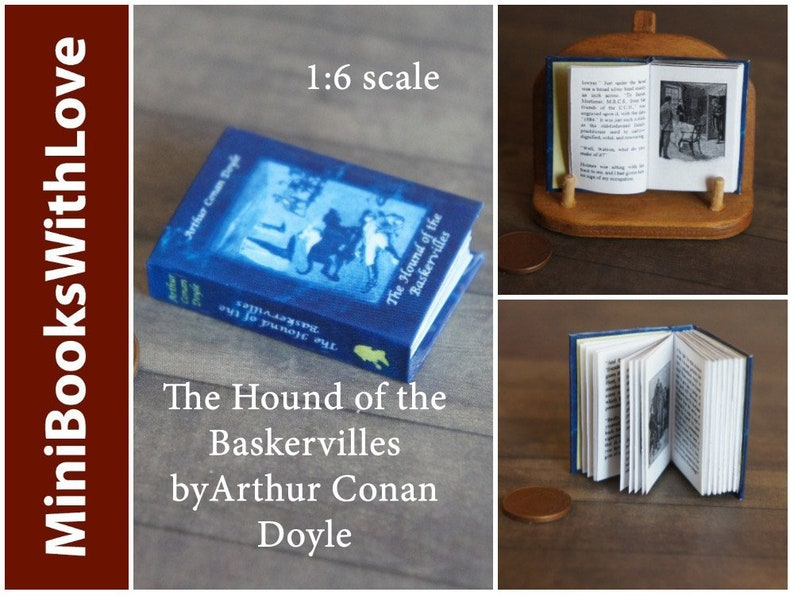 THE GREAT GATSBY 1:6 Scale Readable Book Miniature Book Barbie Book Blythe BJD