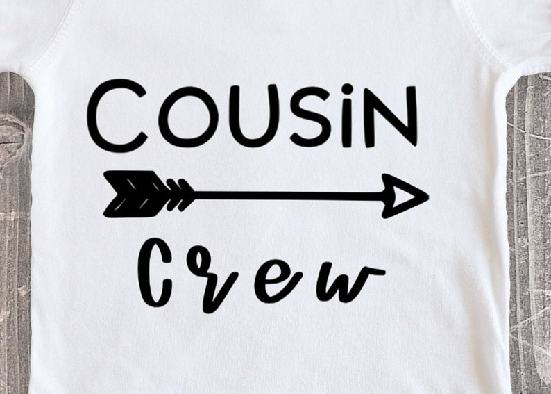 Cousin Crew Baby Shower Gift Ideas Baby Clothes Multiple Color Options
