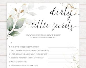 Dirty Little Secret Etsy