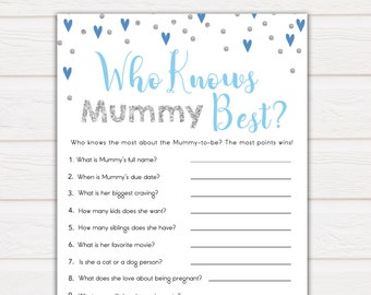 Baby Shower Games Boy Etsy