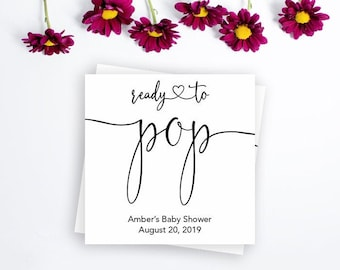 image about Ready to Pop Free Printable titled Geared up in the direction of pop printable Etsy
