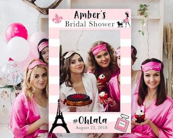 paris themed bridal shower photo booth paris party bridal shower props bridal shower photo booths ohlala sign paris props printable