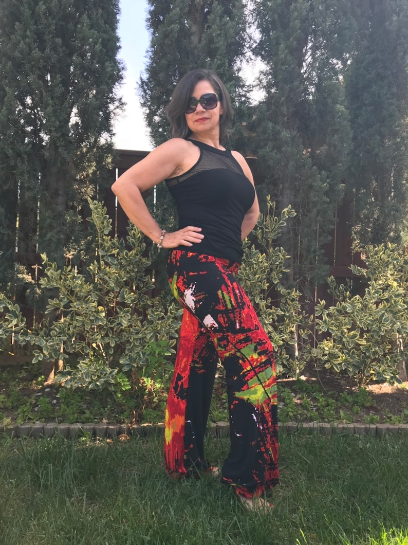 ChaCha wear fluid pants urban chic