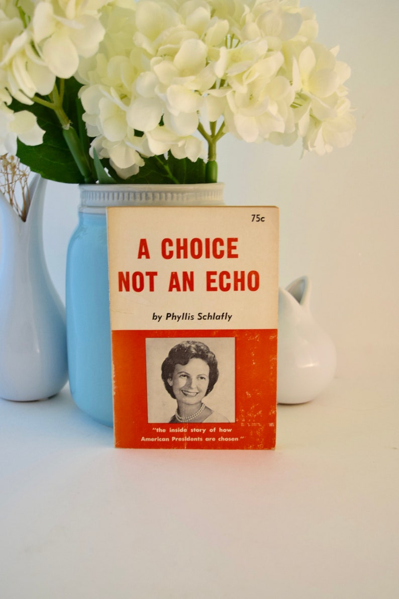 A Choice Not an Echo: The inside story of how American Presidents are chosen