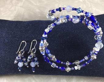 Winter Wonderland Bracelet and Earring Set