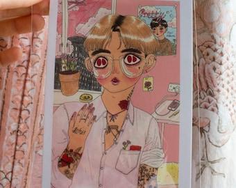 Postcard - 'Heartthrob'