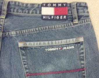 90s Tommy Hilfiger Medium Wash Jeans 40x32 5e87e44e09dd