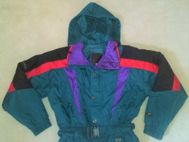c659220ec Vintage Jupa Sports Canada Adult Snowsuit Medium   Etsy