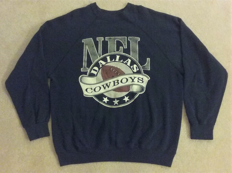pretty nice 0761c ba933 NFL Dallas Cowboys Football Sweatshirt XL