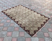 Antigue rug,Turkish rug,Bohemian rug,vintage rug,oushak rug,Area rug,Wool rug,Carpet rug,original rug,Decorative rug,Handmade rug,