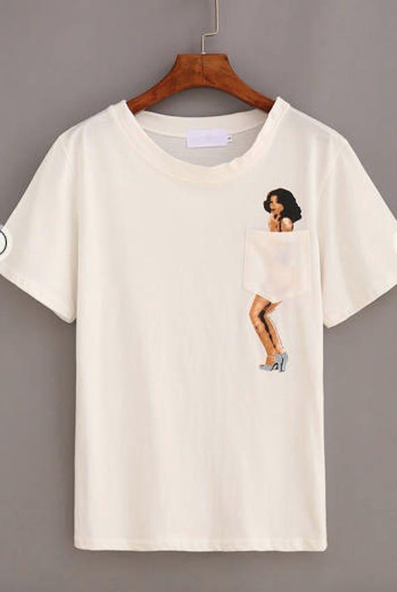 Polly Pocket - Womens poche T Shirt