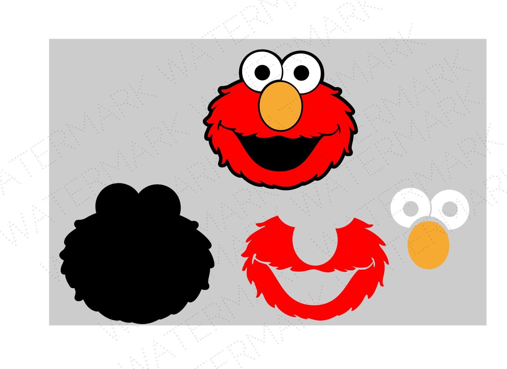 Elmo Cut Out Svg   www.topsimages.com
