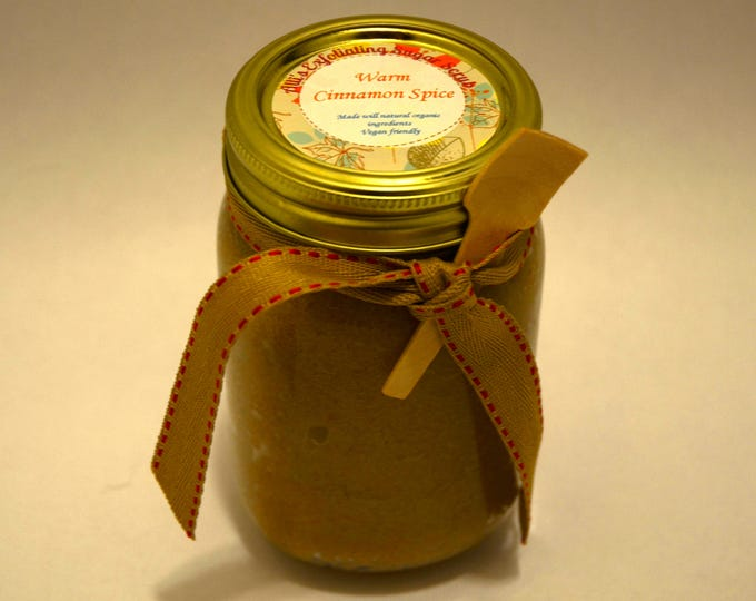 Warm Cinnamon Spice Exfoliating Sugar Scrub