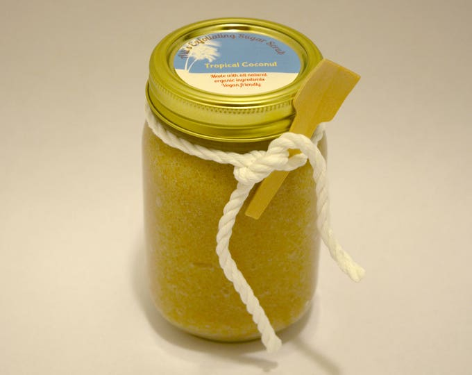 Tropical Coconut Exfoliating Sugar Scrub