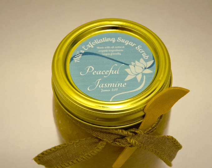 Peaceful Jasmine Exfoliating Sugar Scrub