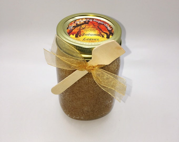 Autumn Leaves Exfoliating Sugar Scrub
