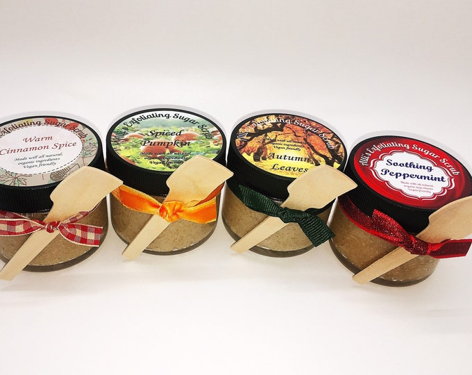 Exfoliating Sugar Scrub 3 Pack - Mix & Match