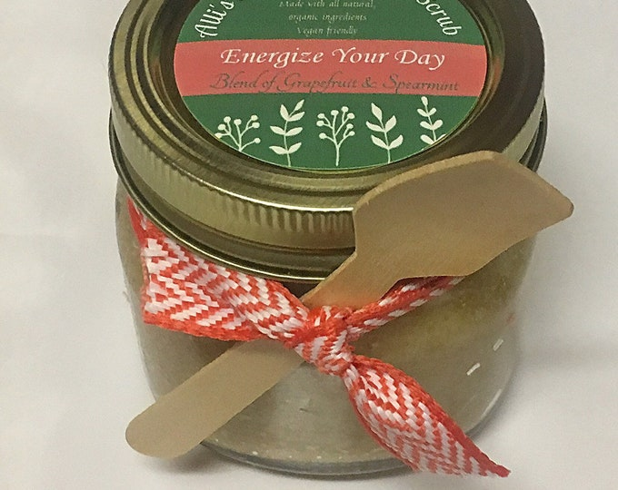 Energize Your Day Exfoliating Sugar Scrub