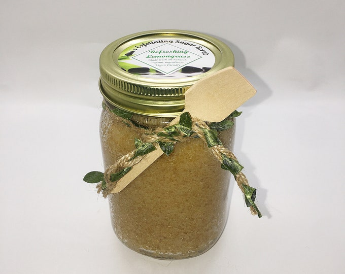 Refreshing Lemongrass Exfoliating Sugar Scrub