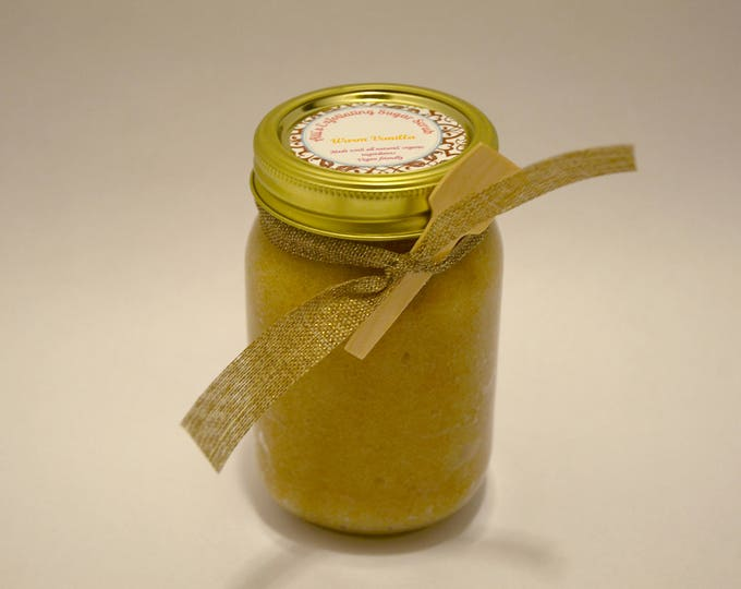 Warm Vanilla Exfoliating Sugar Scrub