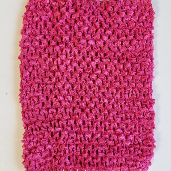 8 Inch Hot Pink Crochet Tutu Top 8 Fast Shipping Tutu Etsy