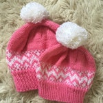 RESERVED - Tyntesfield mum and baby matching hats