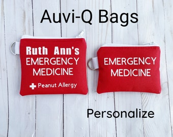 Insulated and Waterproof Auvi-Q / Allerject Pouch