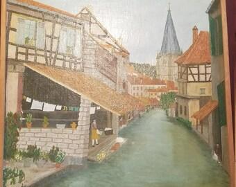 Vintage Oil Painting