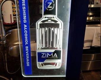 Zima Edgelight Bar Sign